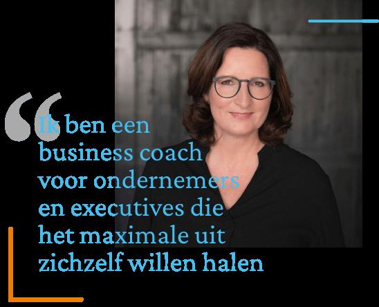 Business coach Miranda Nouwen